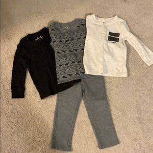 Jumping Beans 2T outfits